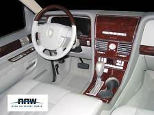 LINCOLN AVIATOR 4WD 2WD INTERIOR OEM WOOD DASH TRIM KIT SET 2003 2004 2005 2006
