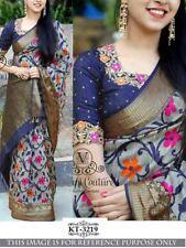 Wedding Bridal saree Sari Dress ZARNA HEAVY Indian Bollywood Designer SILK