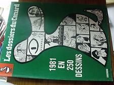 µ? Revue Les dossiers du canard n°2 1981 en 250 dessins