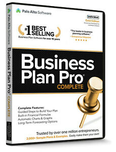 Business Plan Pro Complete  Gold Edition PC NEW!