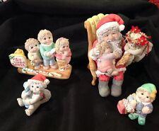 Visit With Santa Dreamsicles  4 Piece Set