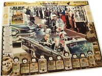 RELICS of JFK, Lee Harvey Oswald, Jack Ruby, presidential limo, Grassy Knoll etc