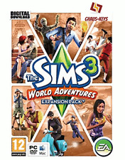 The Sims 3 World Adventures Origin Key Pc Download Code Global [Blitzversand]