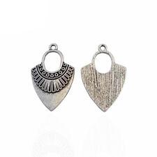 10 x Tibetan Silver Boho Charms Pendants for Earring Jewellery Making Findings