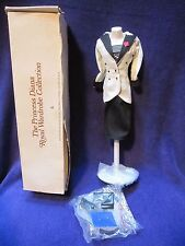 Danbury Mint Princess Diana Royal Wardrobe Collection Black And White Suit NEW