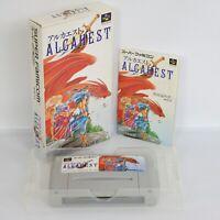 ALCAHEST Super Famicom Nintendo 2165 sf
