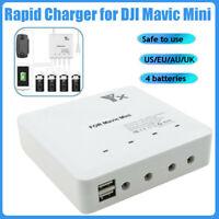For DJI Mavic Mini RC 6 in 1 Intelligent Battery Charger Dual USB Charging Hub Y