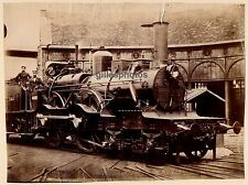 Locomotive  N° 2.873 c. 1880-90 - Chemins de Fer du Nord Train - 72