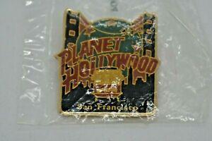 "Planet Hollywood San Francisco ""Golden Gate Bridge"" Classic Logo Pin"
