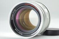 【 MINT 】 Voigtlander NOKTON 50mm F/1.5 Aspherical Lens For Leica Screw L39 Mount