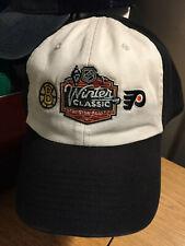 2010 Winter Classic Boston Bruins Philadelphia Flyers NHL Claen Up Hat Cap Men's