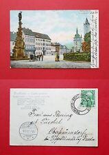 AK TEPLITZ in Böhmen 1908 Schlossplatz mit Pferdekutsche      ( 39788