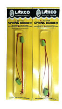 Lakco Spring Bobbers, Two packs of 2, Size Small, Adjustable, Ice Fishing #612Sb