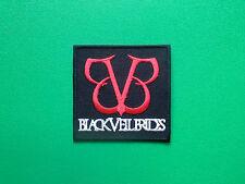 HEAVY METAL PUNK ROCK MUSIC SEW ON / IRON ON PATCH:- BLACK VEIL BRIDES (a) BVB