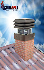 CHIMNEY FAN FOR FIREPLACE, BARBECUE, PIZZERIA 110 VOLTS NEW! (For USA)