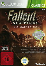 XBOX 360 gioco-Fallout: NEW Vegas Ultimate Edition (Classics) (usk18) (con imballo originale)