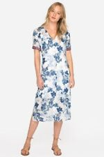 Johnny Was Linen Dress | S - Bust 41"