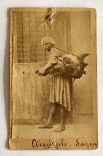 antica fotografia acquaiolo - fine '800