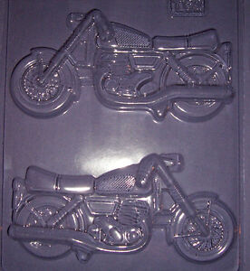 LARGE 3D MOTORCYCLE CHOCOLATE MOULD OR PLASTER MOULD