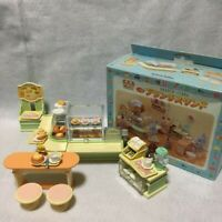 Sylvanian Families BRUNCH STAND Vintage Rare Retired Calico Critters Epoch  iz64