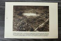 AA) Blatt 1.WK 1914-18 Zonnebeke Ypern Flandern Schlachtfeld Trichter (1920er)