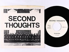Punk Power Pop 45 - Second Thoughts - Cul-De-Sac - Aesthetic Accidents - VG+ mp3