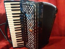 New Scandalli Piano Accordion Super VI 4S Double Tone Chamber LMMH 41/120
