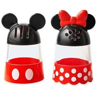 Disney Authentic Mickey & Minnie Mouse Cheese & Pepper Shakers Set - Pizza