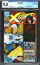 X-Force # 25 CGC 9.8 NM/MT Cable Hologram Cover, Marvel Comics 1993