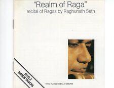 CD REGHUNATH  SETHrealm of ragaEXKEYTONE 704 (R0176)