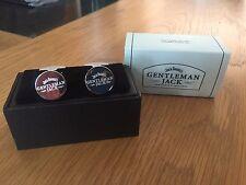 JACK DANIELS GENTLEMAN JACK CUFFLINKS BOXED NEW CUFF LINKS