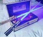 Star Wars Disney galaxys edge LE lightsaber set luke/leia With Blades