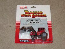 Ertl Tractor With Loader Case IH 7130 #460 1:64 MOC 1986