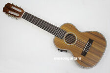 "27"" Concert Mini Acoustic Guitalele with EQ Handcraft Solid Acacia Wood"