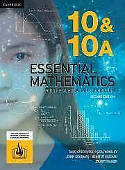 Cambridge Essential Mathematics 10 &10A Workbook by Greenwood Woolley Paperback