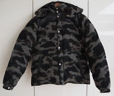 A Bathing Ape BAPE Mr Bathing Ape 1st Camo Tweed Down Jacket Grey Medium