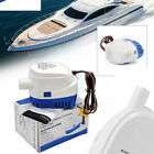 1100GPH Boat 24V Marine Automatic Submersible Bilge Auto Water Pump Float Switch photo