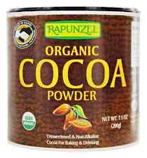 Rapunzel Organic COCOA POWDER - 7.1 oz - Low Fat DRINK or BAKE Mix UNFLAVORED