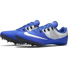 Nike Men's Zoom Rival S 8 Running Spike Shoes Track & Field Racer Blue