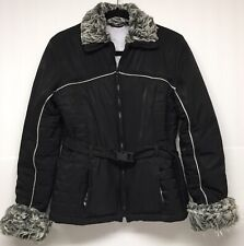 Rampage women's coat/jacket/winter/faux Fur/ Size Medium/Mid-Length/Trending/E