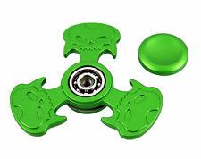 Hot Sales Toy Skull Metal Fidget Hand Spinner Finger Gyro green Kids/Adult D5