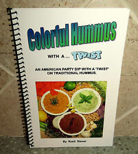 COLORFUL HUMMUS WITH A TWIST RECIPE BOOK AMERICAN PARTY DIPS UNUSUAL RECIPES