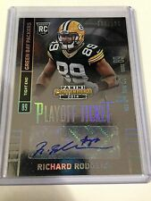 RICHARD RODGERS 2014 Panini Contenders Auto Rookie SP /199 Autograph Packers