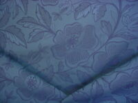 4-3/4Y Scalamandre GH 00048004 Jacobean Bouquet Blue Damask Upholstery Fabric