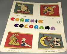 Corky Corknik Colorama Molds Vintage Catalog