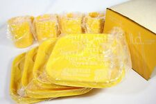 Vintage Ingrid Snax Stackable Yellow 8 Pc Snack Set Original Box New Old Stock