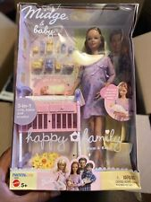 MIB Mattel Happy Family Pregnant Midge and Baby Barbie Doll 2002