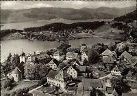 ~1950 Schluchsee Schwarzwald Panorama Vogelschauperspektive alte Ansichtskarte