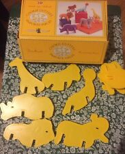 Nordic Ware 3D Cookie Cutters Zoo Circus Jungle Animals Lion Ape Seal Elephant