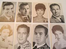 Exhibits 1940's thru the 70' Stars Of The Screen  Cards 75+ DIFFERENT,CHOICE